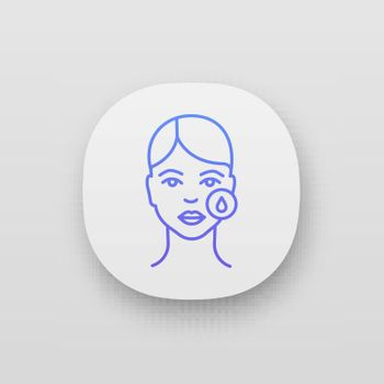Makeup removal app icon