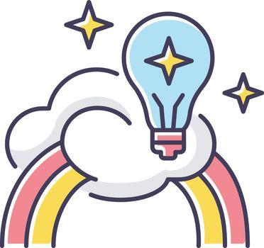 Inspiration RGB color icon
