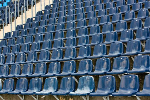 Full length view of football stadium