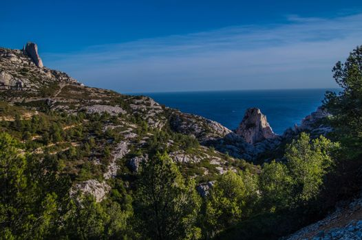 national park  of calanques