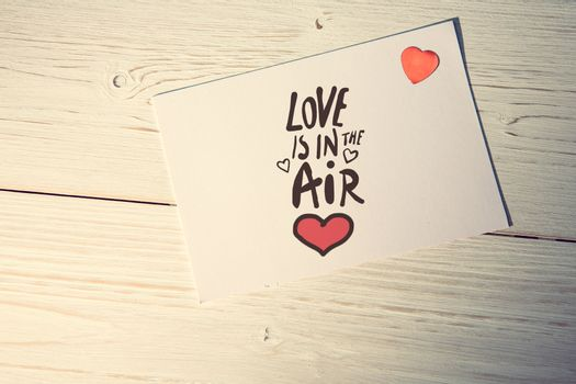 love is in the air against love letter