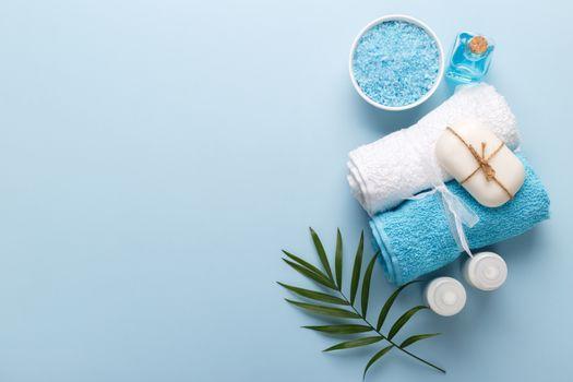 Spa setting, aromatherapy health and wellness