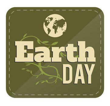 Earth day vector
