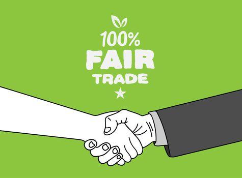 Fair Trade vector