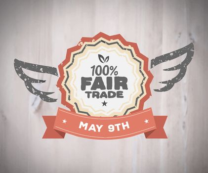 Fair Trade day vector