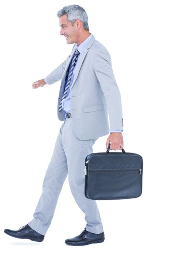 Businessman with balance issues