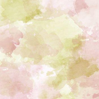 Watercolor pastel background. Vector