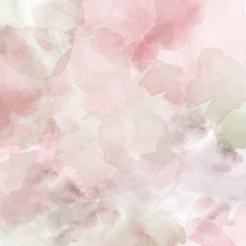 Watercolor pastel background. Vector