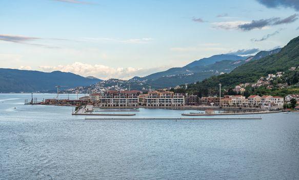 Meljine on Bay of Kotor in Montenegro