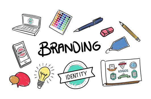 Branding brainstorm vector