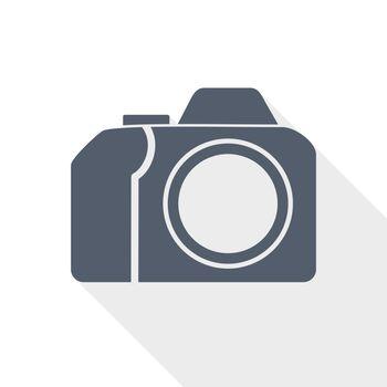 photo camera, photography concept vector icon