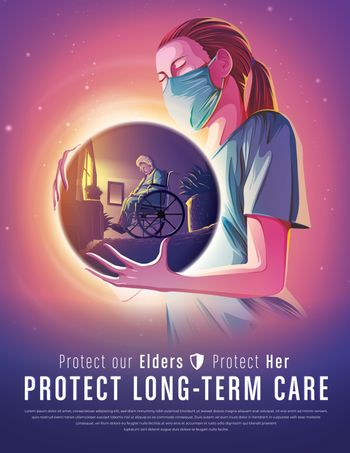 Protect long-Term care poster
