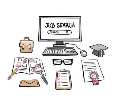 Searching for a job vector