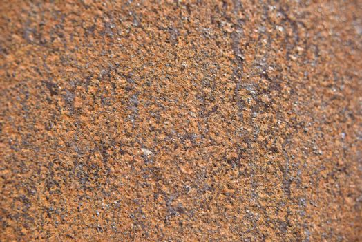 closer look at the rust on the metal surface. real texture.