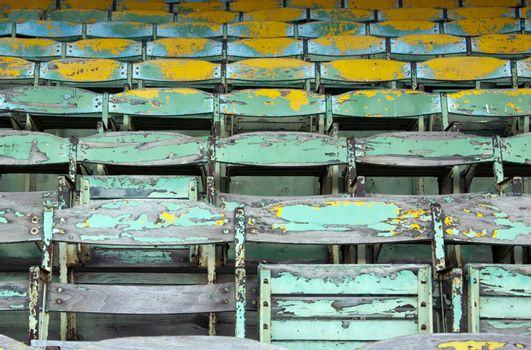 Old Wooden Seats