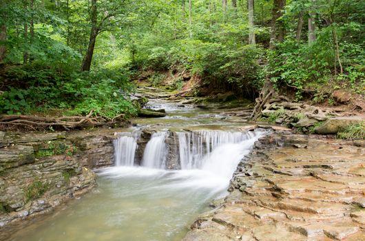 Saunders Springs waterfall
