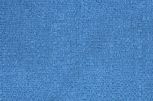 Blue braid fabric texture for background