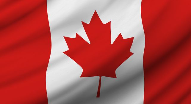 Canada flag background design for Independence day