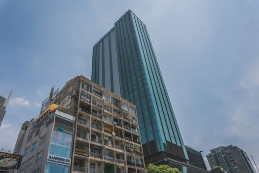 High skyscraper in Ho Chi Minh City