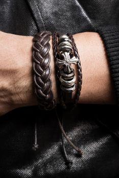 bracelet on the wrist