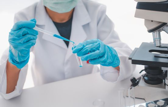 Scientists are researching vaccines against viruses in the labor