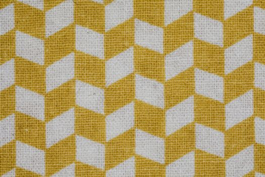 yellow plaid on a white background