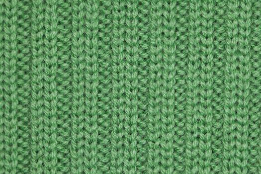 green sweater fabric