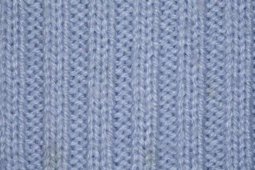 blue fabric textile background close up