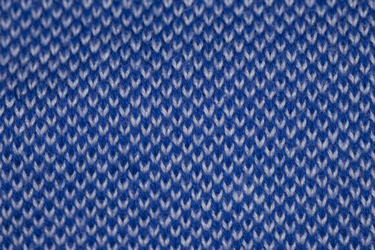 blue background with fabric, closeup