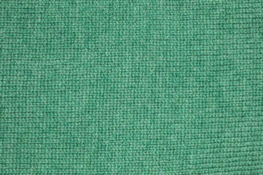 green fabric, closeup for pattern