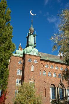 city hall of Stockholm