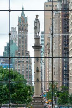 Christopher Columbus Statue in New York