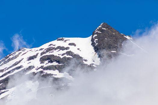 An image of some details volcano Mount Taranaki, New Zealand