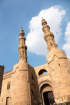 city gate at Cairo Egypt