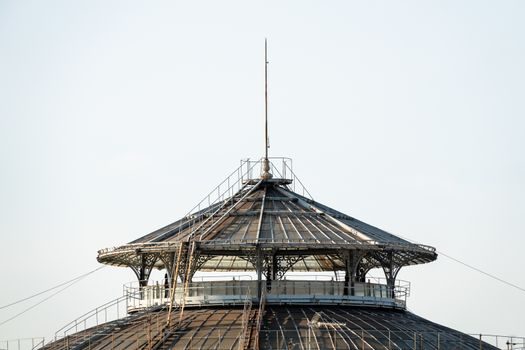 strange steampunk roof