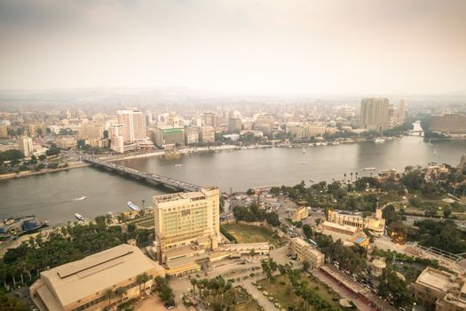 Nile in Cairo Egypt