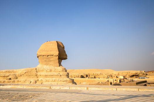 Sphinx at Giza Cairo Egypt