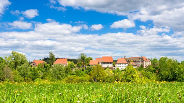 An image of the Kirchberg convent monastery located at Sulz Germany