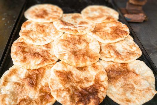 some flatbread in Cairo Egypt