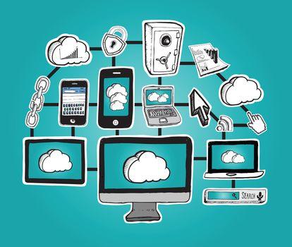 Cloud computing graphics