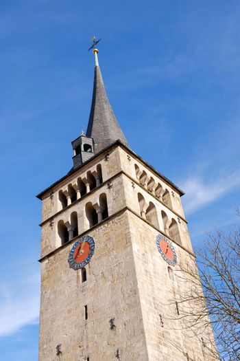 An image of the famous church Martinskirche in Sindelfingen germany