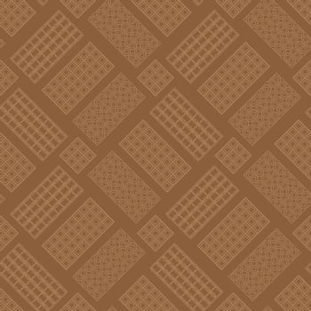 Milk Brown Chocolate Bar Seamless Pattern. Sweet Food.
