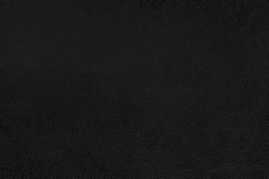 Black colored leather texture as abstract background