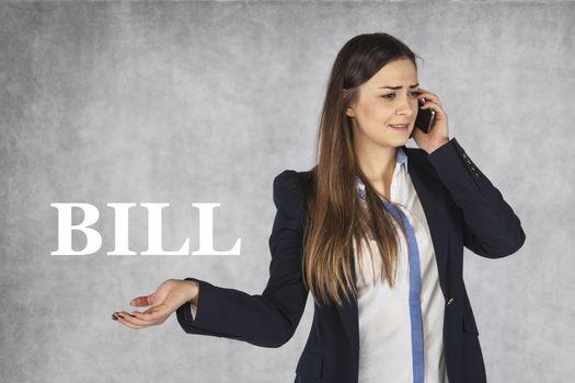 helplessness when receiving phone bill
