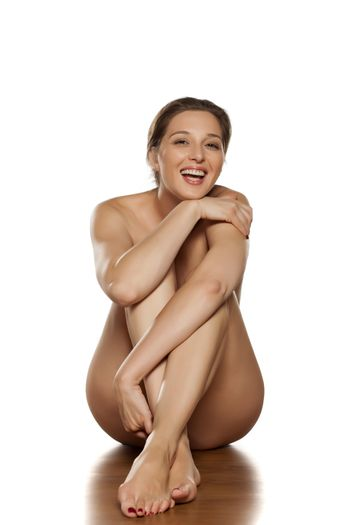 sensual portrait of a naked woman