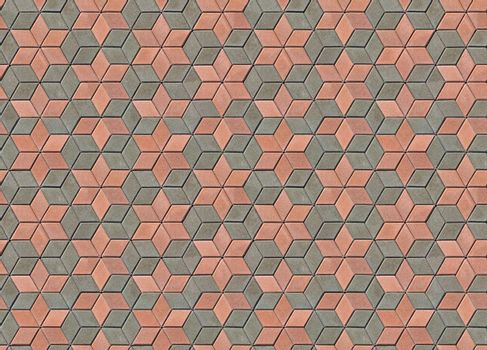Photo (not a computer rendering) of paving slabs. Seamless tileable texture