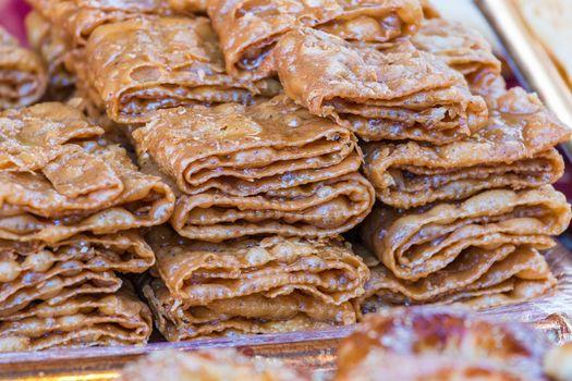 Delicious cake baklava