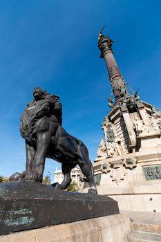 Monument to Christopher Columbus - Barcelona