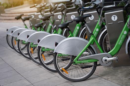 local smart bikes parked mobike Intelligent bike