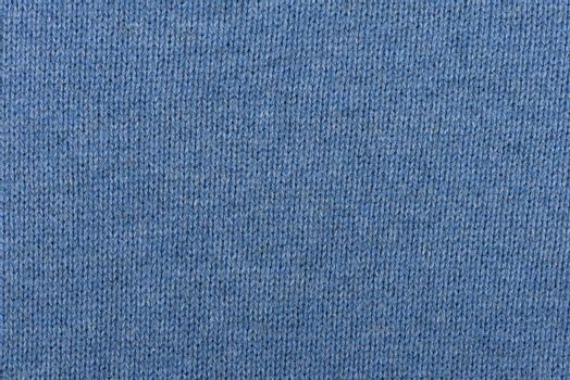 Detailed blue cotton fabric texture or background